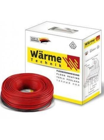 Теплый пол под плитку 1,0 м2 Warme 10 м кабель (Германия)