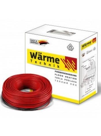 Нагревательный кабель в стяжку 9,4 м2  Warme  (Германия)