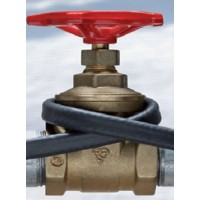 Обогрев труб саморегулирующий кабель Defrost pipe 15