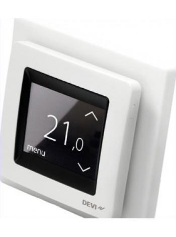 Терморегулятор для теплого пола DEVI reg Touch слоновая кость