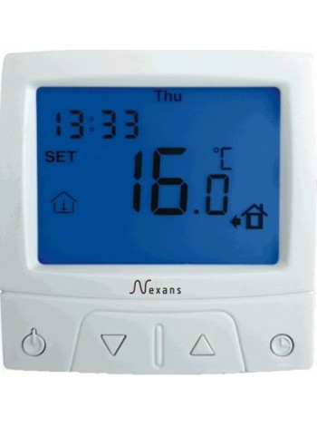 Терморегулятор программируемый nexans millitemp cdfr-003