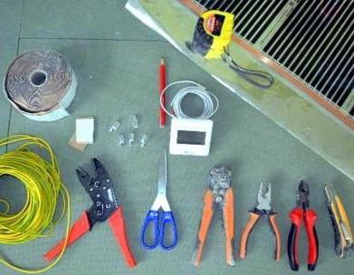 инструменты для монтажа инфракрасной пленки
